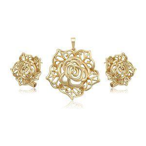 Charles Delon Pendant Jewelry Set for Women